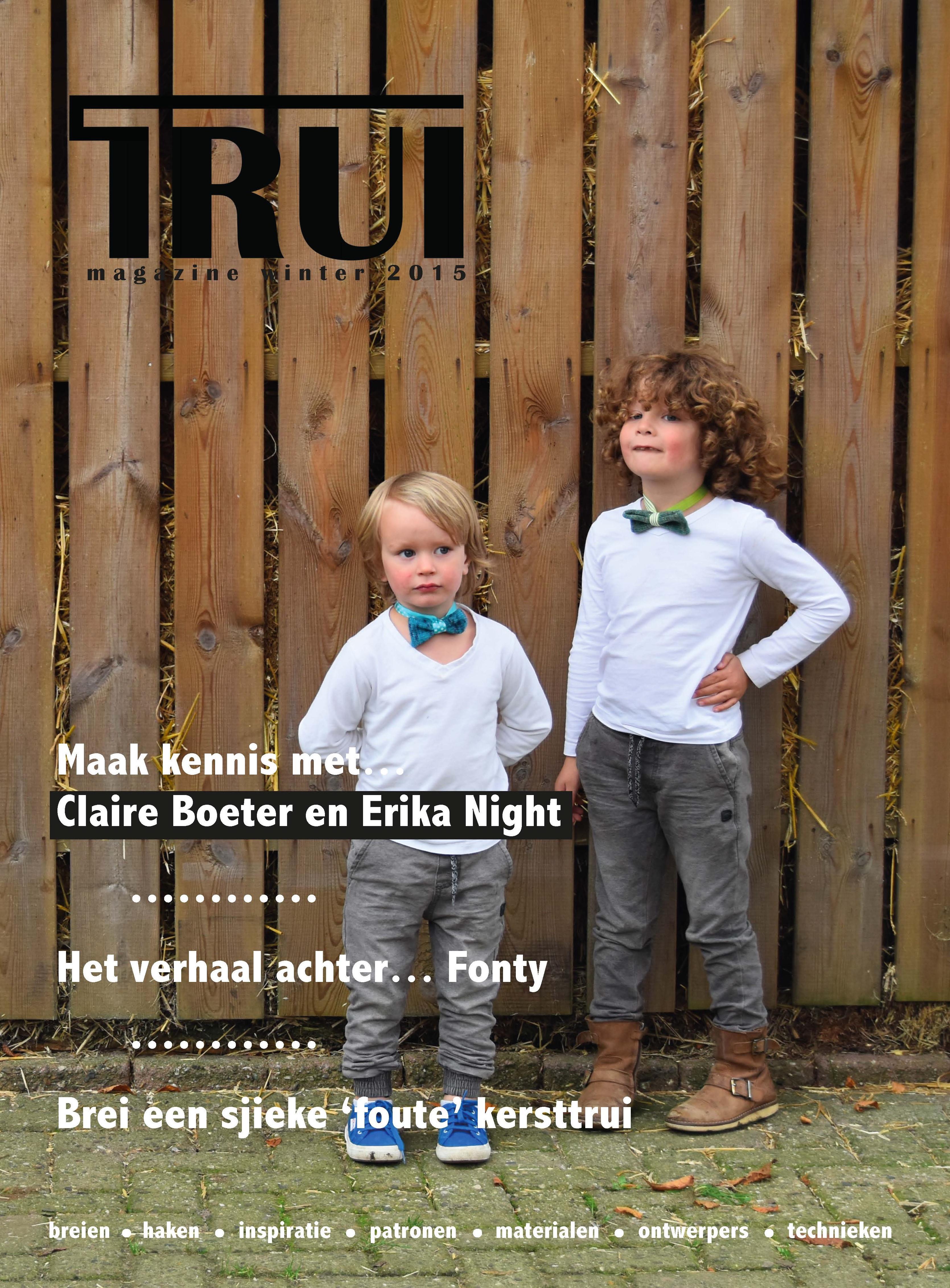 Trui Winter 2015 Trui Magazine